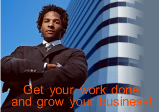 Get your work done and grow your business!