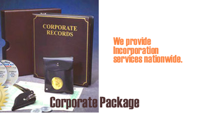 We provide incorporation services nationwide